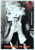 Marilyn Monroe - Niger Stamp #6