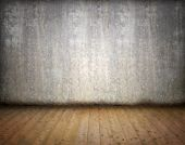 Grunge abstract empty room