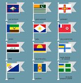 Flags set four-17