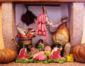 Cold Cuts And Meat Composition