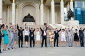 Happy University Graduates