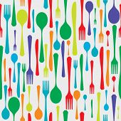 Cutlery background color