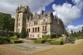 Picture Of Belfast Castle In Northern Ireland.