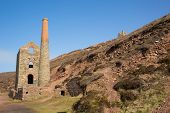 Old English tin mine