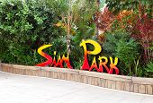Tenerife Island, Spain - May 22: The Siam Waterpark Sign On May 22, 2011 In Tenerife, Spain. The Sia