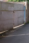 Corrugated Gate
