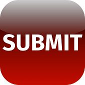Red Text Submit Icon For App