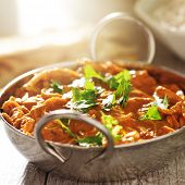 picture of curry chicken  - indian curry  - JPG