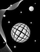 Cosmic background is black and white
