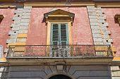 Historical palace of San Severo. Puglia. Italy.