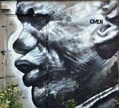 black man Street art Montreal