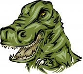Illustration Featuring a T-Rex