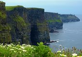Famosos Cliffs Of Moher, Edison captura, oeste da Irlanda