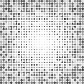 stock photo of grayscale  - Abstract dotted grayscale background texture - JPG
