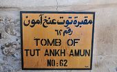 Tomb Of Tut Ankh Amun, Valley Of The Kings, Egypt