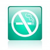 no smoking internet icon