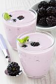 Yogurt And Sweet Dewberry