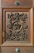 Door At The Residence In Munich