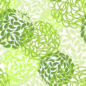 Vector seamless floral background. color abstract wallpaper
