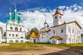 Alexander Svirsky monastery in Leningrad region of Russia