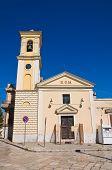 Church of Madonna della Strada. Torremaggiore. Puglia. Italy.