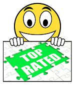 Top Rated Sign Means Most Popular Or Best-seller