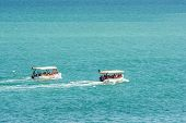 People Boat Trip On The Black Sea