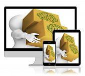 We Deliver Boxes Displays Transportation And Delivery Service