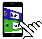 Myths Facts Folders Displays Factual And Untrue Information