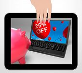 Twenty-five Percent Off Laptop Displays Prices Reduced 25