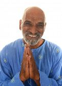 Nice Happy Healthy Image of a Yoga master