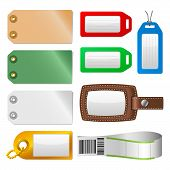 Labels and tags - Set 1 - Luggage