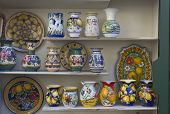 Amalfi hand painted ceramics