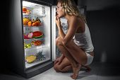 stock photo of woman dragon  - Diet - JPG