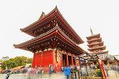 Sensoji, Also Known As Asakusa Kannon Temple Is A Buddhist Temple Located In Asakusa.