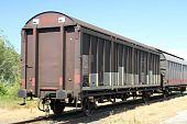 los coches del tren