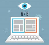 A/b Testing Optimization Of Website. Which One Converts Better. Visitor And User Experience