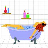 Relax In Bath