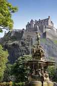 Ross Fountain Edinburgh Castle