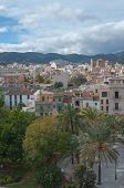 View from Es Baluard art museum towards Santa Catalina