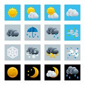 Wetter Icons set