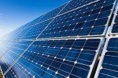 Photovoltaic Solar Panels Background