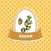 Health and Nature Collection. Argan tree