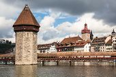 View Of The Old Town Of Lucerne