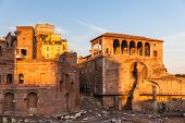 The Ancient Ruin In Rome