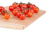 cherry tomatoes on platter