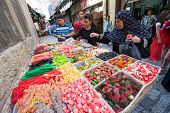 Buying Candy In Jerusalem