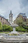 Belfry Of Mons In Belgium.