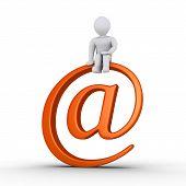 Person And E-mail Symbol