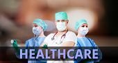 Healthcare Background With Doctors